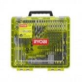 100 vienetų grąžtų ir suktuvo antgalių rinkinys Ryobi RAKDD100