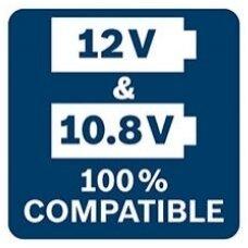 Bosch konversija nuo 10,8 V iki 12 V