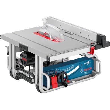 Stacionarus pjovimo stalas Bosch GTS 10 J Professional + darbo stalas GTA 600 2