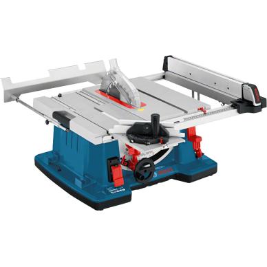 Stacionarus pjovimo stalas Bosch GTS 10 XC Professional + darbo stalas GTA 60 W 2