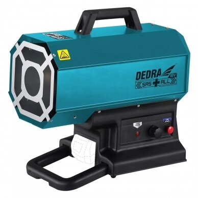 Dujinis šildytuvas DEDRA DED7185H, 18V / 230V 3
