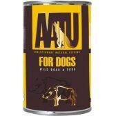 AATU FOR DOGS konservai su kiauliena/šerniena 400g