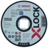 Abrazyvinis pjovimo diskas Bosch X-LOCK Expert Inox +Metal, 125 × 1 × 22,23 mm