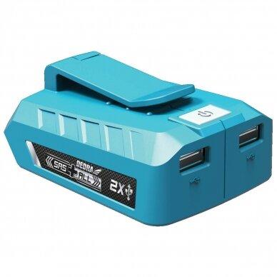 Adapteris į USB, Dedra DED7003, 18V