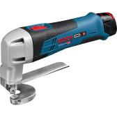 Akumuliatorinės kerpamosios skardos žirklės Bosch GSC 12V-13  Professional