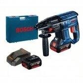 Akumuliatorinis perforatorius Bosch GBH 18V-20, 2x5Ah, SDS+