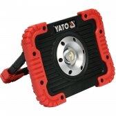 Akumuliatorinis šviesos diodų prožektorius Yato 10W COB LED, 800 lm