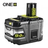 "Akumuliatorius Ryobi RB18L90, 18 V (9,0 Ah) ""Lithium+"" HIGH ENERGY"