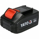 Akumuliatorius Yato LI- ION / 18V | 4,0 Ah (YT-82844)