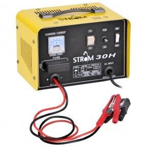 Akumuliatoriaus įkroviklis 30A, 12/24V STROM (CB-30H)