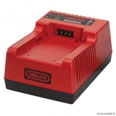 Akumuliatoriaus greito įkrovimo pakrovėjas OREGON C750 RAPID, 36 V