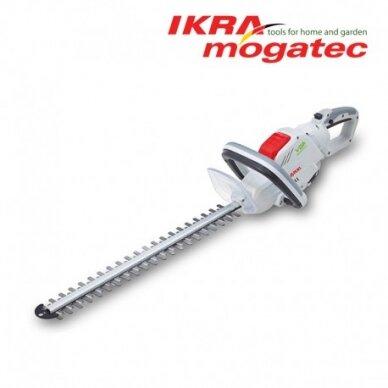 Akumuliatorinės gyvatvorių žirklės 40V Ikra Mogatec IAHS 40-5425 Pilnas komplektas