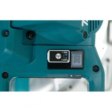 Akumuliatorinės pjovimo staklės Makita DLS111ZU, 2x18 V, 260 mm 2