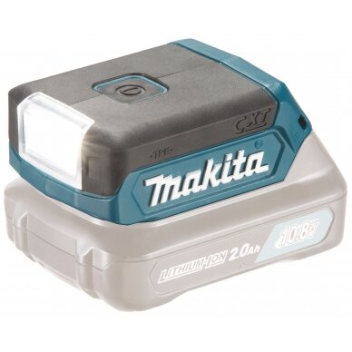 Akumuliatorinis LED prožektorius Makita DEAML103, 10,8V Li-ion