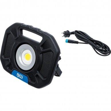 Akumuliatorinis prožektorius su garsiakalbiais BGS-technic, 40W, Bluetooth 2