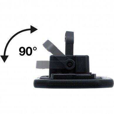 Akumuliatorinis prožektorius su garsiakalbiais BGS-technic, 40W, Bluetooth 3