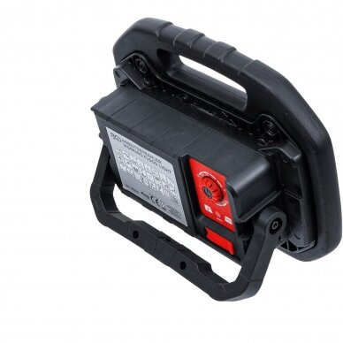 Akumuliatorinis prožektorius su garsiakalbiais BGS-technic, 40W, Bluetooth 4