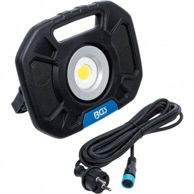 Akumuliatorinis prožektorius su garsiakalbiais BGS-technic, 40W, Bluetooth 5