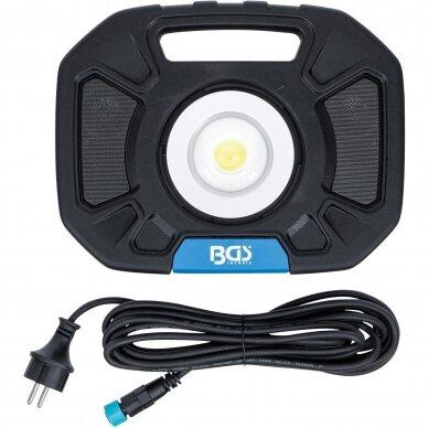 Akumuliatorinis prožektorius su garsiakalbiais BGS-technic, 40W, Bluetooth 6