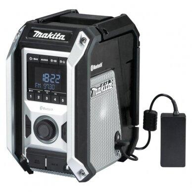 Akumuliatorinis Radijas Makita DMR114B su Bluetooth, Aux, USB 2