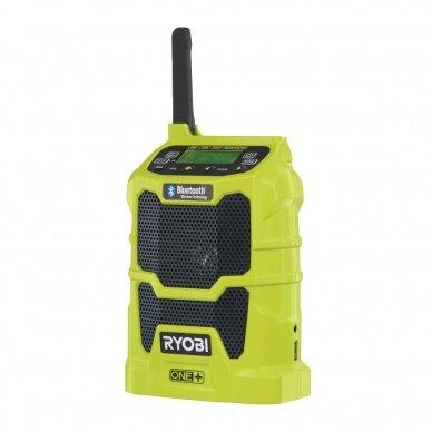Akumuliatorinis radijas su Bluetooth® Ryobi R18R-0, 18V (be akum. ir kroviklio)