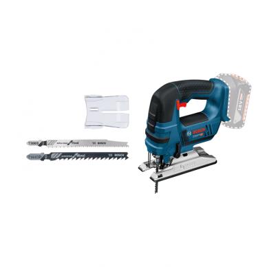 Akumuliatorinis siaurapjūklis Bosch GST 18 V-Li B Professional, 2x4.0Ah 7