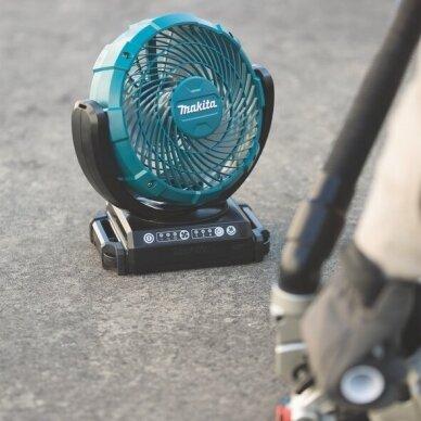 Akumuliatorinis ventiliatorius Makita CF101DZ, 10.8-12V 2