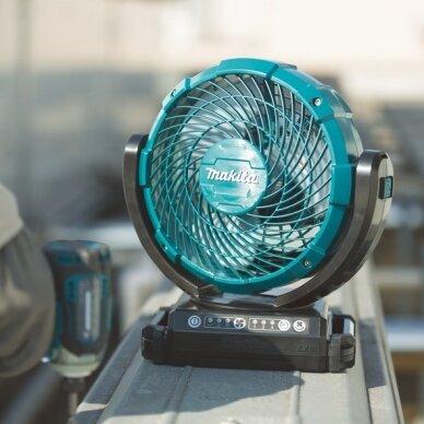 Akumuliatorinis ventiliatorius Makita DCF102Z, 18V 3