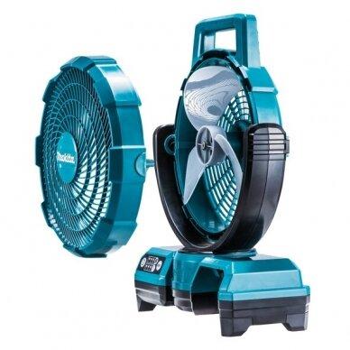 Akumuliatorinis ventiliatorius Makita DCF203Z, 14,4V/18V 4