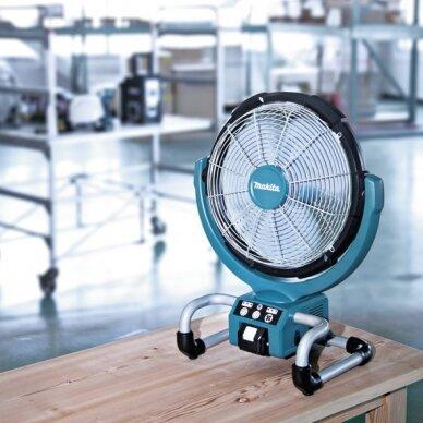 Akumuliatorinis ventiliatorius Makita DCF300Z, 14,4V/18V Li-ion 3