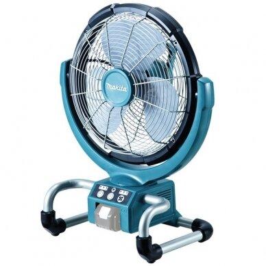 Akumuliatorinis ventiliatorius Makita DCF300Z, 14,4V/18V Li-ion