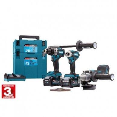 Akumuliatorinių įrankių komplektas XGT ® 40Vmax DK0125G301