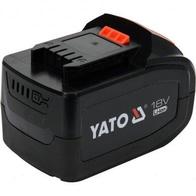 Akumuliatorius Yato LI- ION / 18V   6,0 Ah (YT-82845) 2