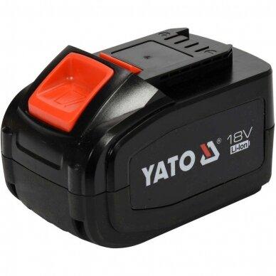 Akumuliatorius Yato LI- ION / 18V   6,0 Ah (YT-82845)