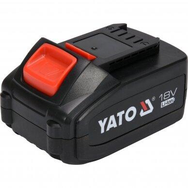 Akumuliatorius Yato LI- ION / 18V | 3,0 Ah (YT-82843)