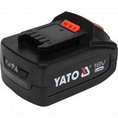 Akumuliatorius Yato LI- ION / 18V | 3,0 Ah (YT-82843) 2