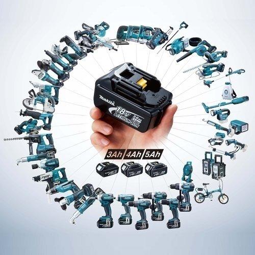 Plačiausia pasaulyje akumuliatorinių įrankių sistema