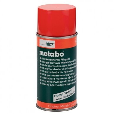 Alyva krūmapjovėms 0,3 L aerozolis, Metabo