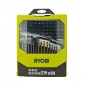 Antgalių rinkinys Ryobi RAK69MIX, 60 VNT.