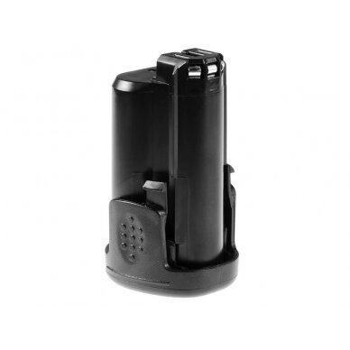 Analogas akumuliatoriui - Bosch 10.8V Li-Ion, 1.5Ah 3