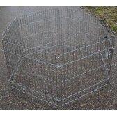 HIPPIE PET Aptvaras gyvūnui 6 dalys 63x63 cm chromuotas