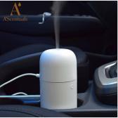 AUTOMOBILINIS A'Scentuals ultragarsinis difuzorius, 60 ml, baltas