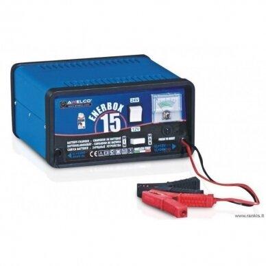 Automobilinių akumuliatorių kroviklis Awelco ENERBOX 15