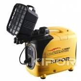 Benzininis generatorius Kipor IG1000S, 1kW