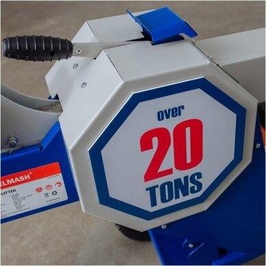 Benzininė malkų skaldyklė 5 kW, 20 t 5
