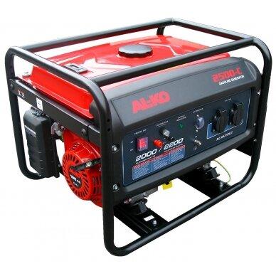 Benzininis generatorius AL-KO 2500-C, 2,2 kW