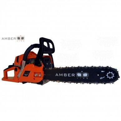 Benzininis grandininis pjūklas AMBER-LINE X-CLASS X-451, 2.8 kW 2
