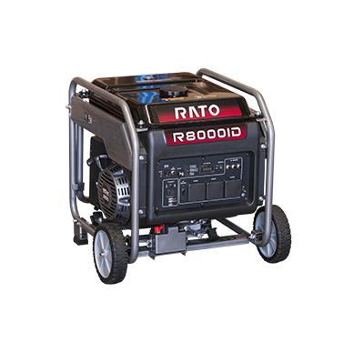 Benzininis inverterinis generatorius Rato R8000ID, 7,0kW, 230V