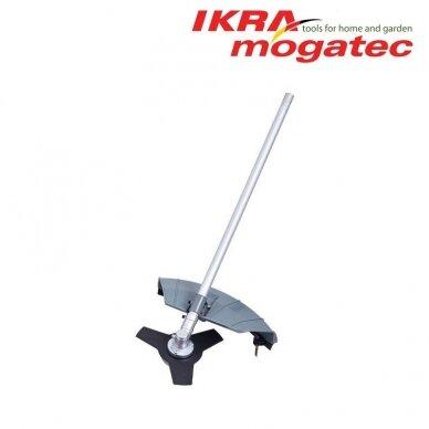 Benzininis universalus Ikra Mogatec sodo priežiūros prietaisas IBKH 33, 4in1 3