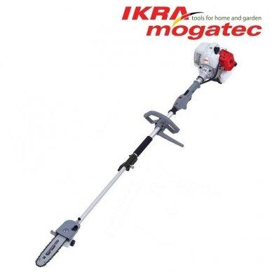 Benzininis universalus Ikra Mogatec sodo priežiūros prietaisas IBKH 33, 4in1 4